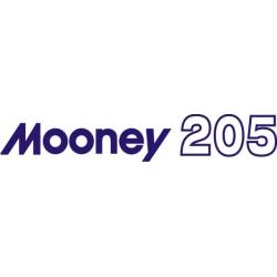 Mooney 205 Aircraft Decal,Sticker!