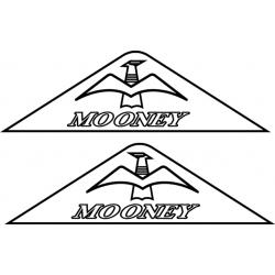 Mooney Aircraft Yoke Decal,Sticker!