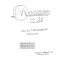 Mooney M-20 Service and Maintenance Manual $13.95