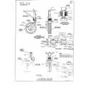 Mooney M-18, M-18L & M-18LA Parts & Service Manual $13.95