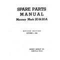 Mooney Mark 20 & 20A Spare Parts Manual $13.95