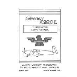 Mooney M20L Parts Catalog $19.95