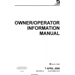 McCauley Propeller Systems Owner/Operator Maintenance Manual $19.95