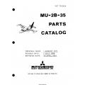 Mitsubishi MU-2B-35 Parts Catalog YET70193A