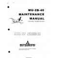 Mitsubishi MU-2B-40 Maintenance Manual MR-0333