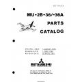 Mitsubishi MU-2B-36-36A Parts Catalog YET74127A