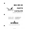 Mitsubishi MU-2B-40 Parts Catalog MR-0341-1