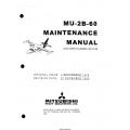 Mitsubishi MU-2B-60 Maintenance Manual MR-0336