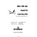 Mitsubishi MU-2B-60 Parts Catalog MR-0342-2