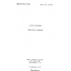 Naval Aircraft Factory N3N-1 Pilot's Operating Handbook  1938