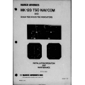 Narco Avionics MK-12D MK 12D TSO NAV/COM Installation Operation and Maintenance Manual 03118-0600