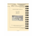 Vought F-8D, F-8E Flight Manual/POH Navy Aircraft 1964-1967  $12.95