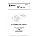 NAT NPX138 Panel Mount Radio Installation and Operation Manual 2003 $13.95