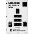 Narco Nav 110/111/112/114  Avionics TSO'd Spectrum Line Nav-Coms Maintenance Manual 03092-0600 $29.95