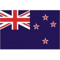 "New Zealand Flag Decal Vinyl/Sticker 8"" wide!"