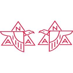 North American Aviation Vintage Logo,,Decals!