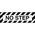 No Step Aircraft Placards, Decals!