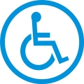 Handicap Signs Logo,Decals!