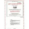North American F-86D USAF Series Safety of Flight Supplement Flight Handbook AN 01-60JLC-1D