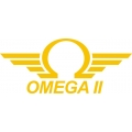 Omega Aircraft Decal/Sticker 4''h x 9''w!
