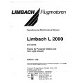 Limbach Flugmotoren L 2000 and Series Engine Operating and Maintenance Manual $ 13.95