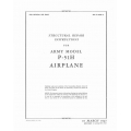 North American P-51H Structural Repair Instruction 1945 AN 01-60JF-3 $12.95