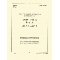 Northrop P-61A Pilot's Flight Operating Instruction Army 1944  $ 12.95