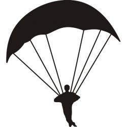 """Parachuter 9"""" wide x 10"""" high!"""