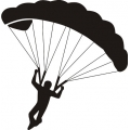 "Parachuter 9.8"" wide x 10"" high! $8.95"