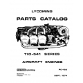Lycoming Parts Catalog PC-120 TIO-541 Series $13.95