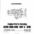 Lycoming Engine Parts Catalog AEIO-360-B1B-B1F & B1H PC-406-4 (2005) $13.95