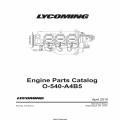 Lycoming O-540-A4B5 Parts Catalog PC-515-5 v2011 $19.95