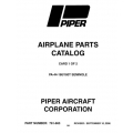 Piper Seminole Parts Catalog PA-44-180/180T $13.95 Part # 761-663