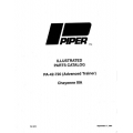 Piper Cheyenne IIIA Parts Catalog PA-42-720 $13.95 Part # 761-818
