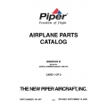 Piper Warrior III Parts Catalog PA-28-161 $13.95 Part # 761-897