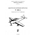 Piaggio P.149-U Description and Maintenance Instructions