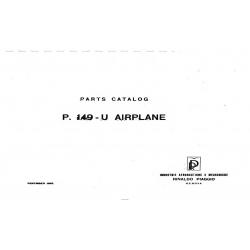 Piaggio P.149-U Airplane Parts Catalog