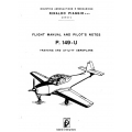 Piaggio P.149-U Flight Manual and Pilot's Notes