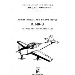 Piaggio P.149-U Flight Manual and Pilot's Notes