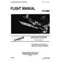 Piaggio P.149D Pilot's Operating Handbook and Flight Manual 1L-P149D-1