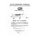 Gulfstream Model GA-7 Cougar Pilot's Operating Handbook 1978 $29.95