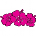 Hibiscus Flower! Sticker/Decals!
