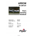 Piper Arrow PA-28R-201 (SN 2844001 AND UP) POH Pilot's Operating Handbook and Flight Manual $19.95