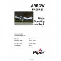 Piper Arrow PA-28R-201 (SN 2844001 AND UP) POH Pilot's Operating Handbook and Flight Manual $19.95