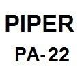 Piper PA-22 Manuals