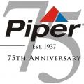 Piper 75 Anniversary Aircraft Emblem,Decals!