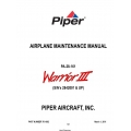 Piper PA-28-161 Warrior III (S/N's 2842001 & UP) Maintenance Manual 761-882_v2011 $29.95