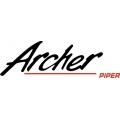 """Piper Archer Decal-Sticker 2.49"""" high x 8"""" wide!"""