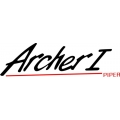 """Piper Archer I Decal-Sticker 2 3/4"""" high by 8.5"""" wide!"""