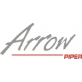 "Piper Arrow Decal/Sticker 2.75""high by 6 1/8""wide!"
